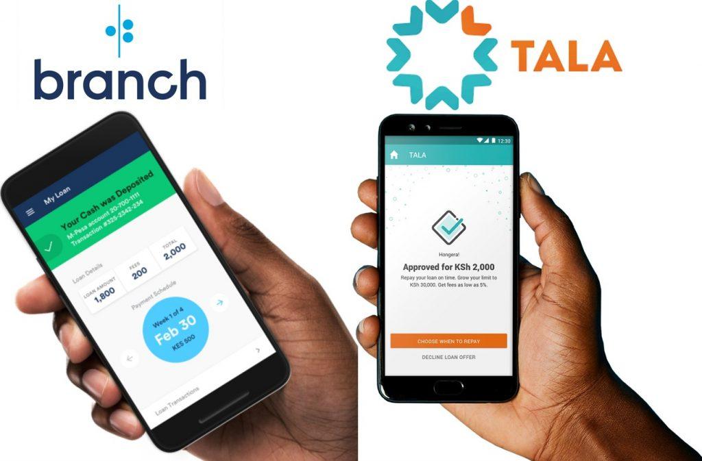 Branch-vs-Tala-Mobile-Loans-Kenya
