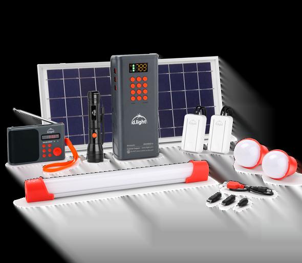 Dlight D150 Solar home kit