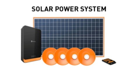 Startimes Solar Panel and Battery