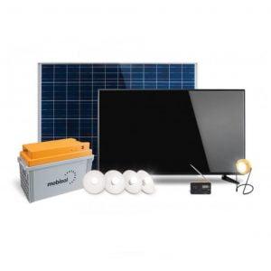 Mobisol Solar TV