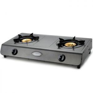 Ramtons Gas Cooker 2 Burner Teflon