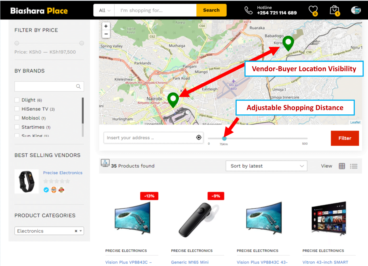 Geolocation Feature