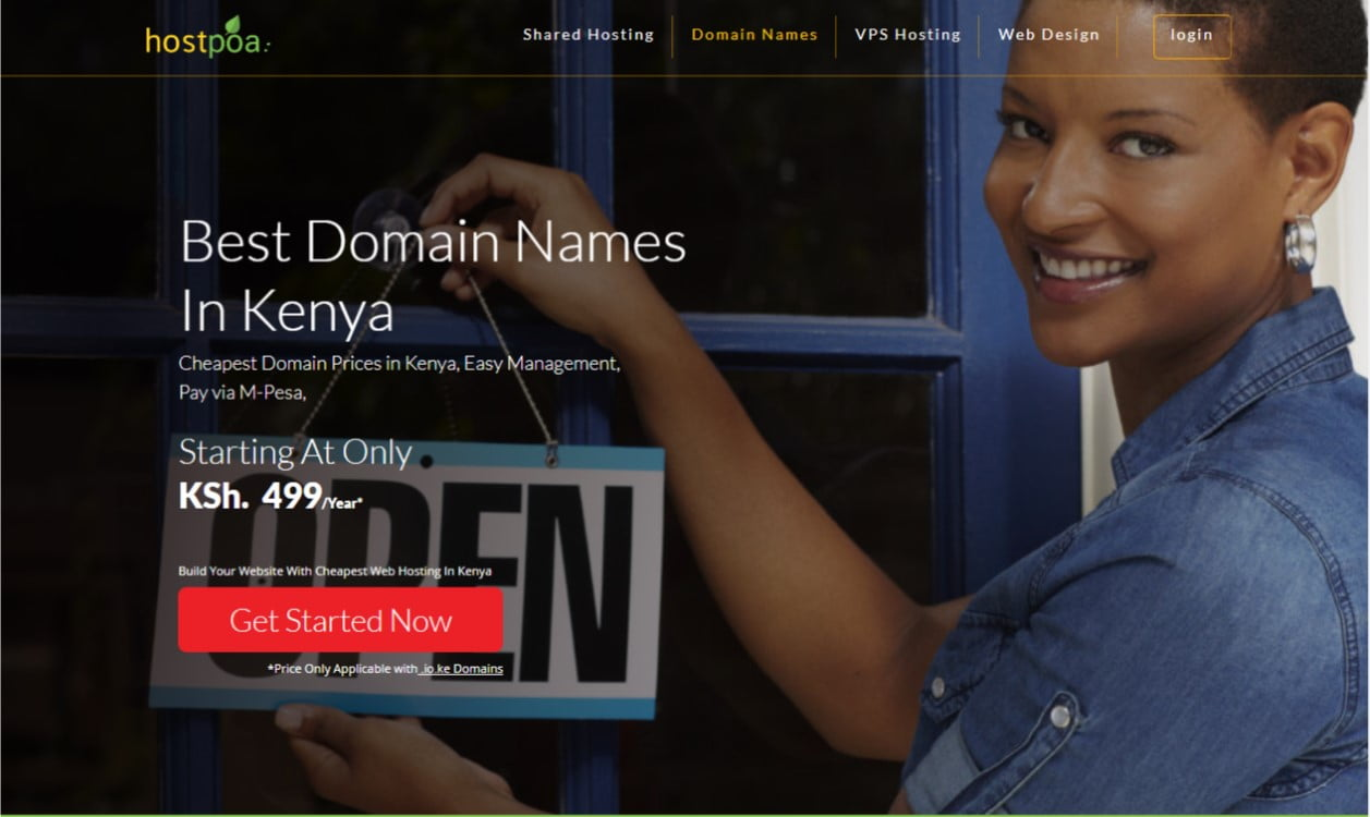 HostPoa Domain Prices