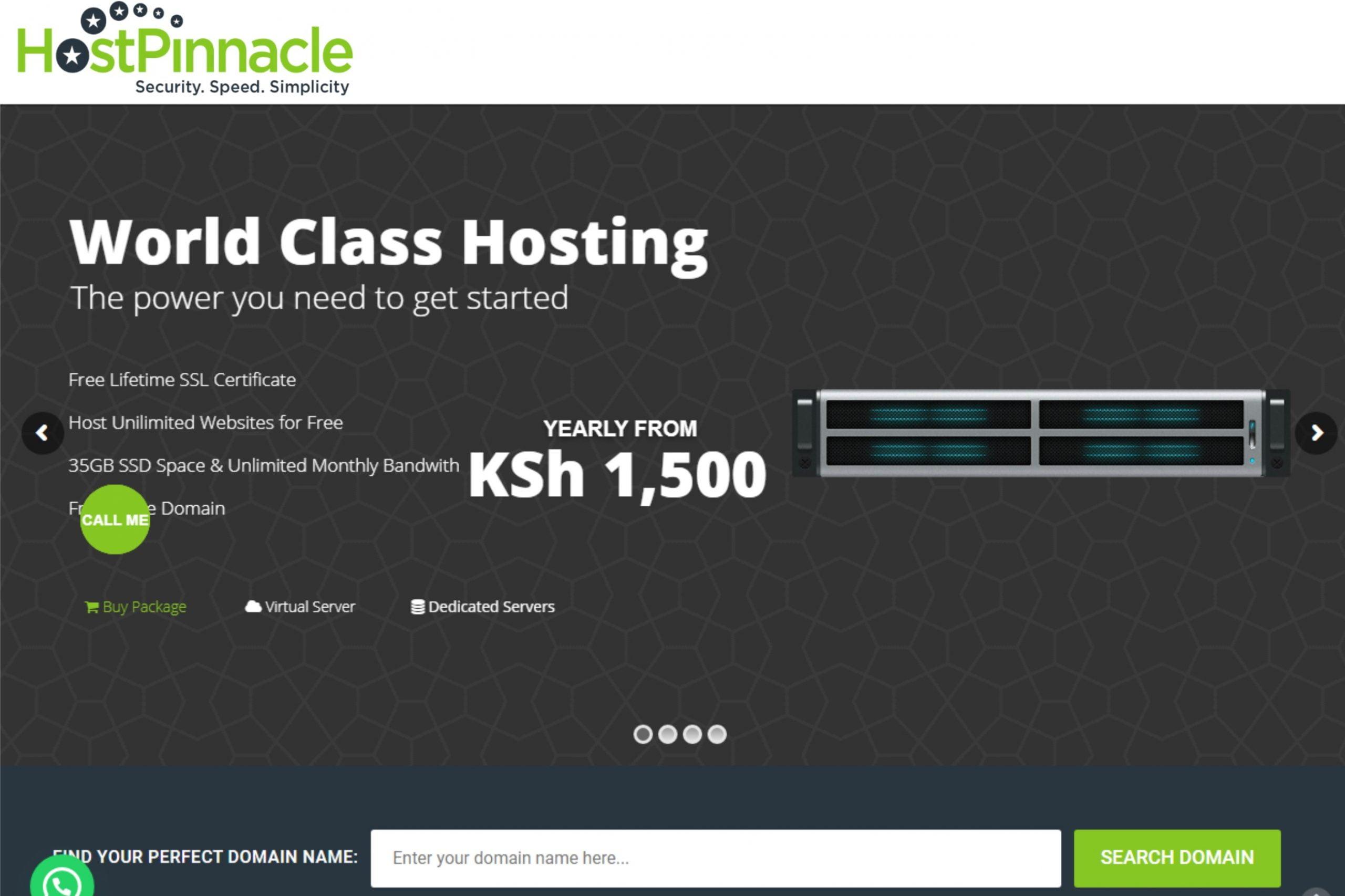 Hostpinnacle Web Hosting in Kenya