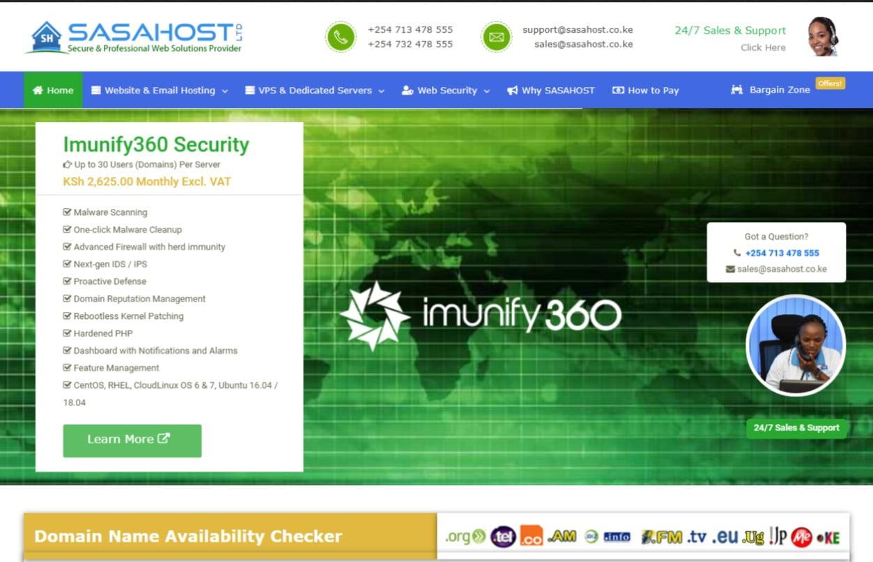 Sasahost Web Hosting Offers