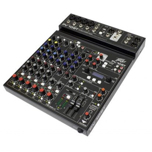 Peavey PV-10BT Compact 10 Channel Mixer