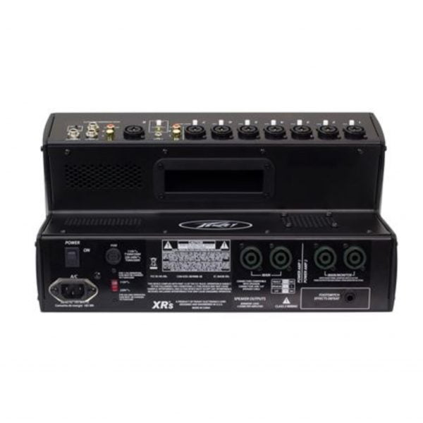 Peavey XR-S 8 Channel Powered Mixer Back