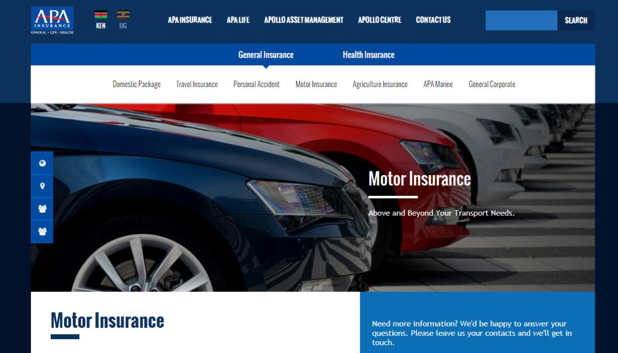 APA Motor Car Insurance