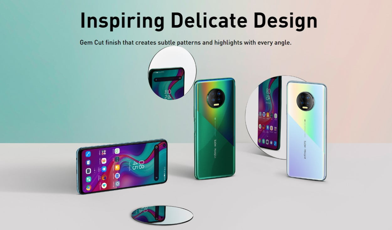 Infinix Note 7 Design