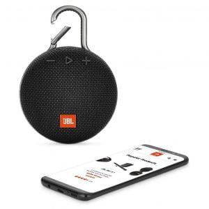 JBL CLIP 3 Speaker - Black