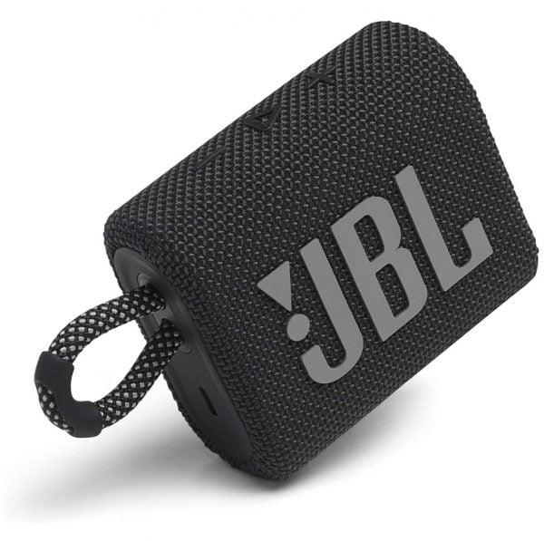 JBL Go 3 Bluetooth Speaker - Black