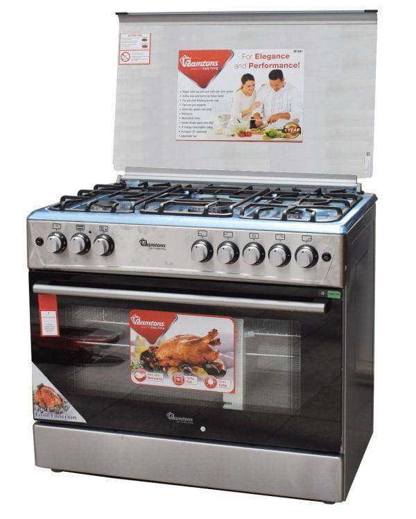 Ramtons RF491 5Gas Giant Cooker