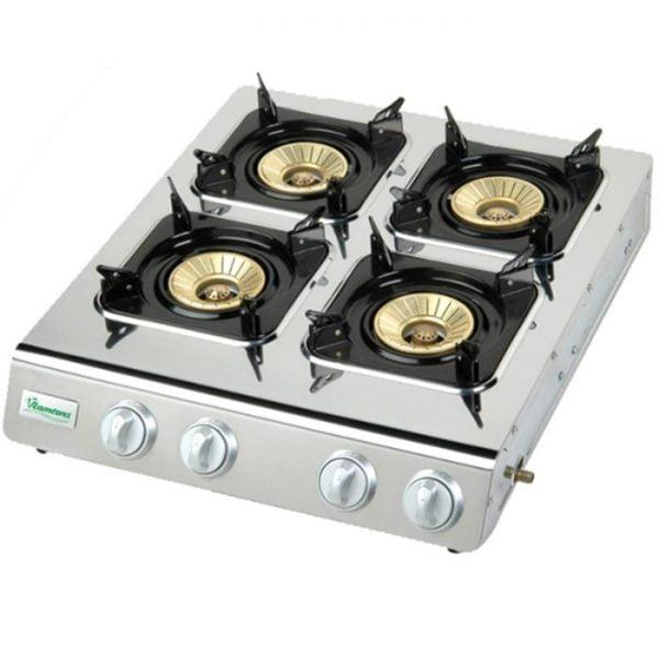 Ramtons RF541 4 Burner Gas Cooker
