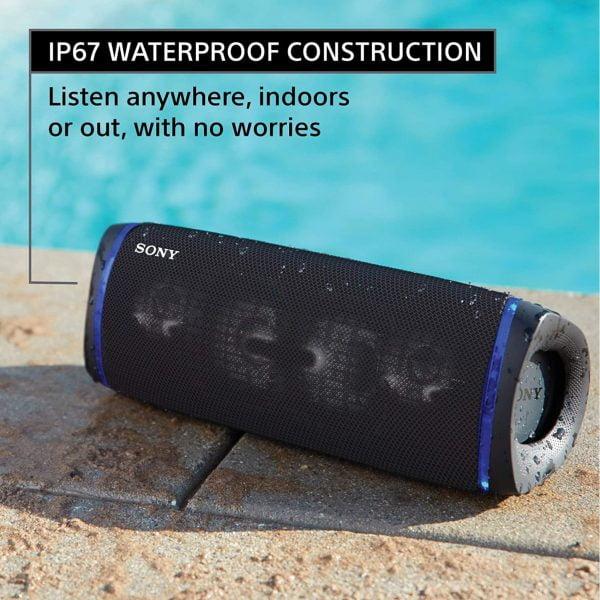 Sony SRS-XB43 - Waterproof