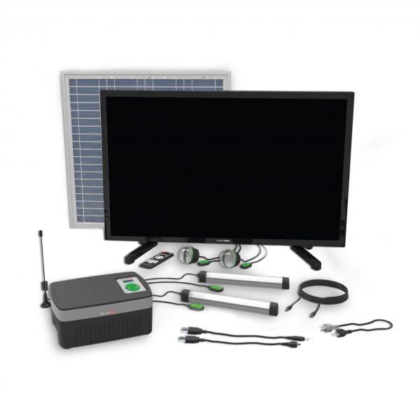 Mkopa Solar TV