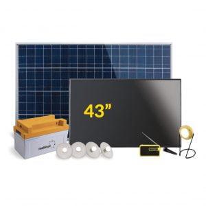 Mobisol 43 inch Solar TV