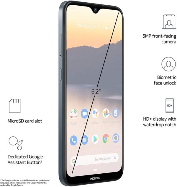 Nokia 2.3 Front Features