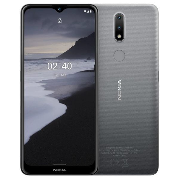 Nokia 2.4 - Charcoal Color