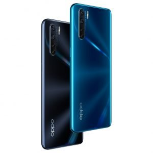 OPPO A91 - Black and Blue