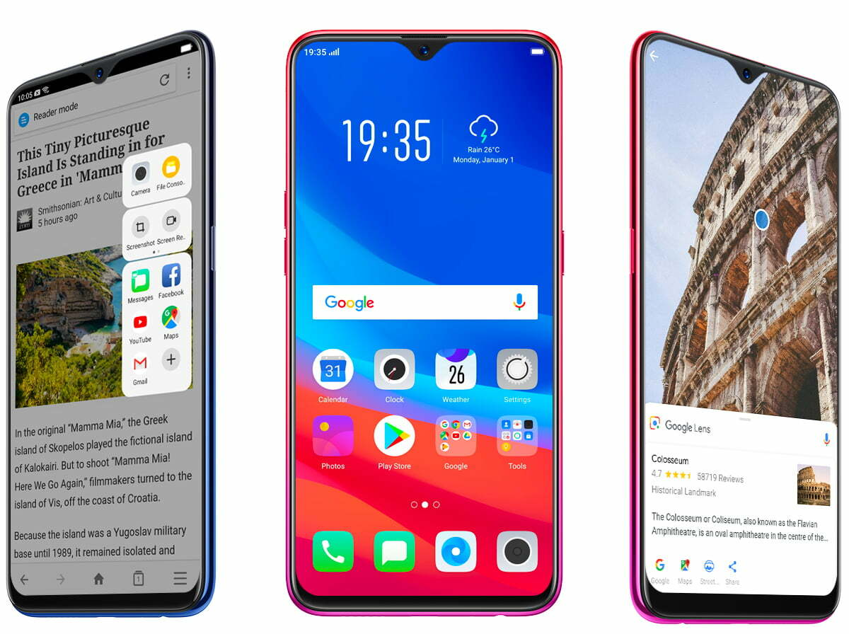 OPPO F9 - View