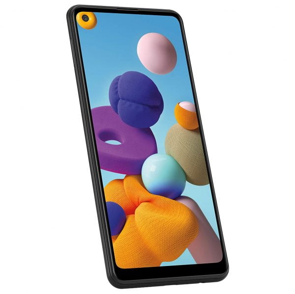 Samsung Galaxy A21s - Sideview