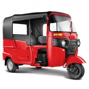 Bajaj Maxima Tuktuk - Red