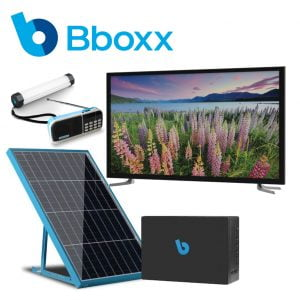 Bboxx Solar with TV