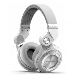 Bluedio T2s Bluetooth Headphones White