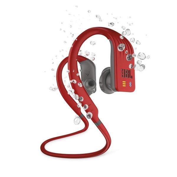 JBL Endurance DIVE Wireless Headphones - Red