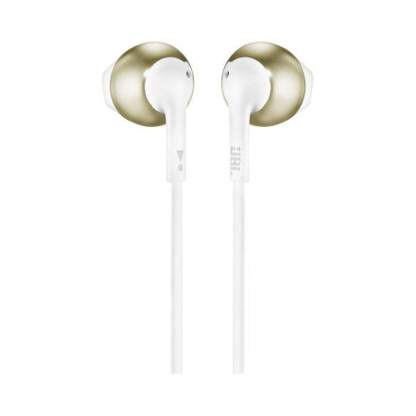 JBL T205 In-Ear Headphone - Gold