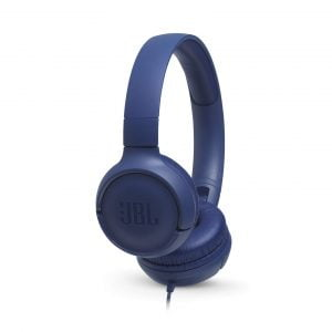 JBL TUNE 500 Wired Headphones - Blue