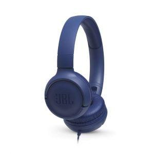 JBL TUNE 500 Wired Headphones - Blue