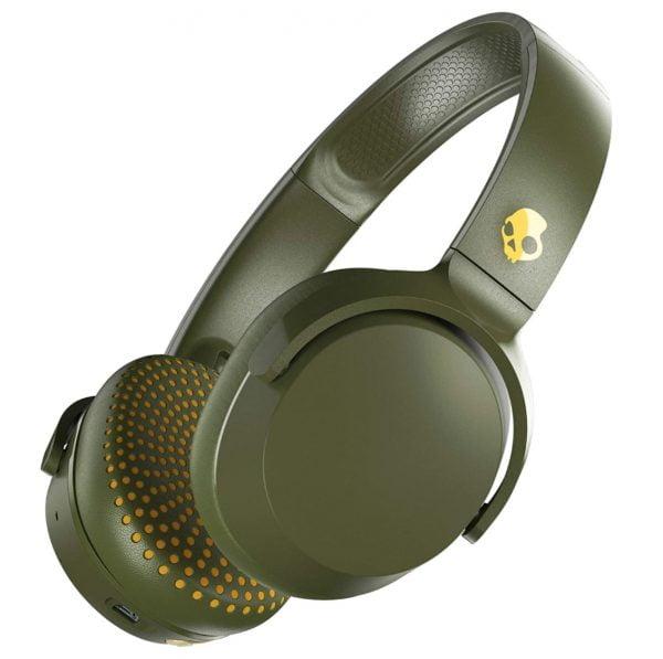 Skullcandy Riff Headphones - Olive