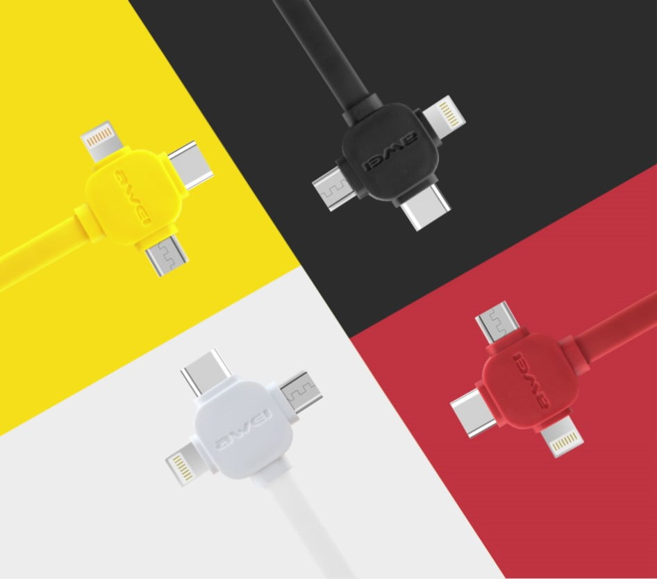 AWEI CL-82 Data Cable Colors
