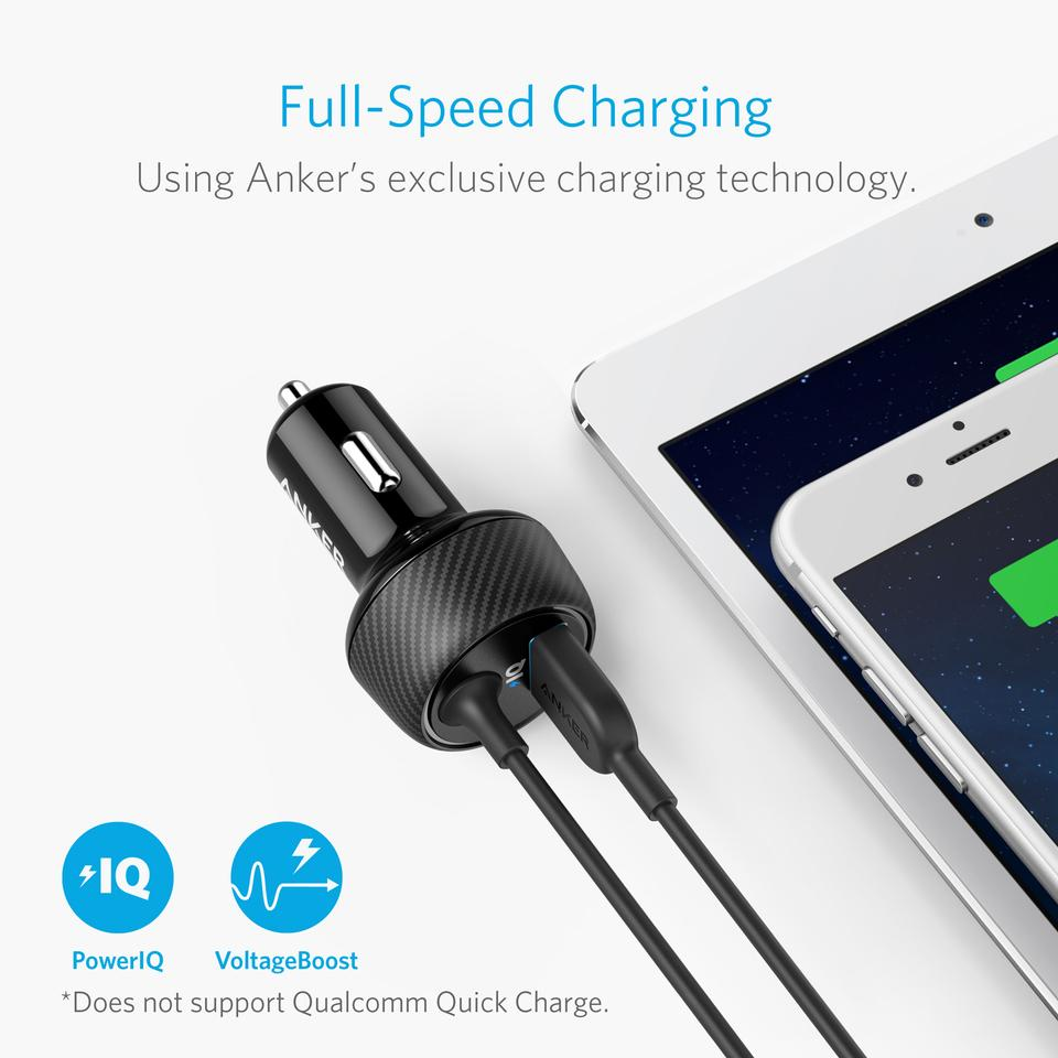 PowerDrive Elite 2 Ports Charger