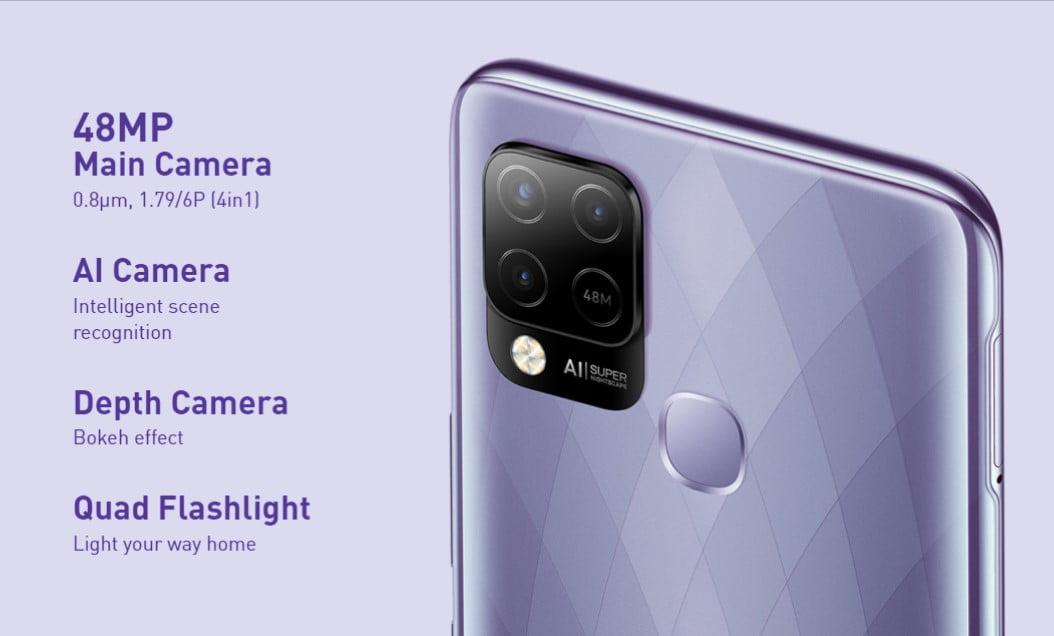 Infinix Hot 10T Camera
