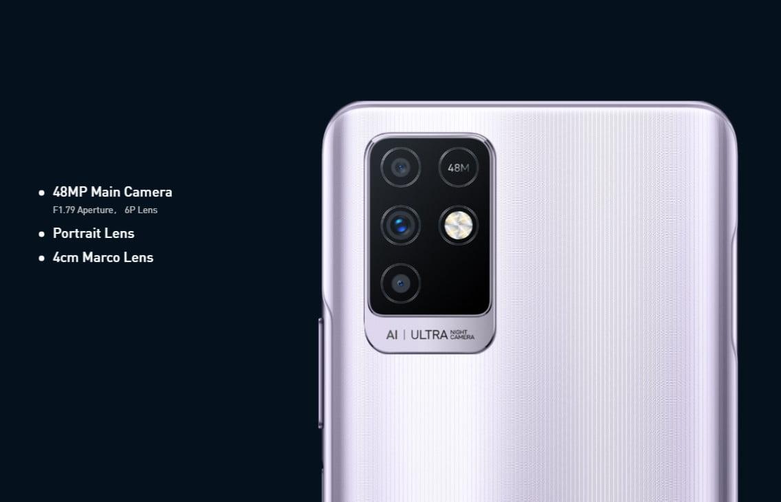Infinix Note 10 Camera